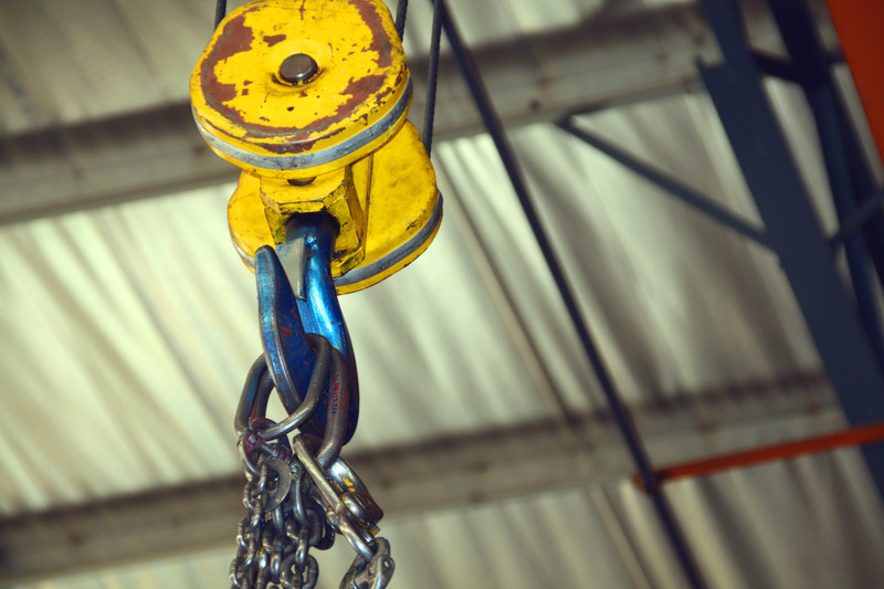 Picture of hoisting equipment