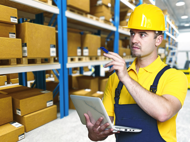 Picture of warehouse management